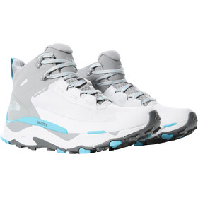 The North Face Vectiv Exploris FutureLight Mid Shoes Women micro chip grey/maui blue